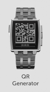 pebble-smartwatch-qr-code